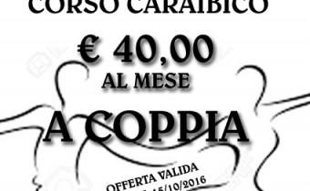 VOLANTINO A5 OFFERTA ISCRIZIONI CORSO CARAIBICO